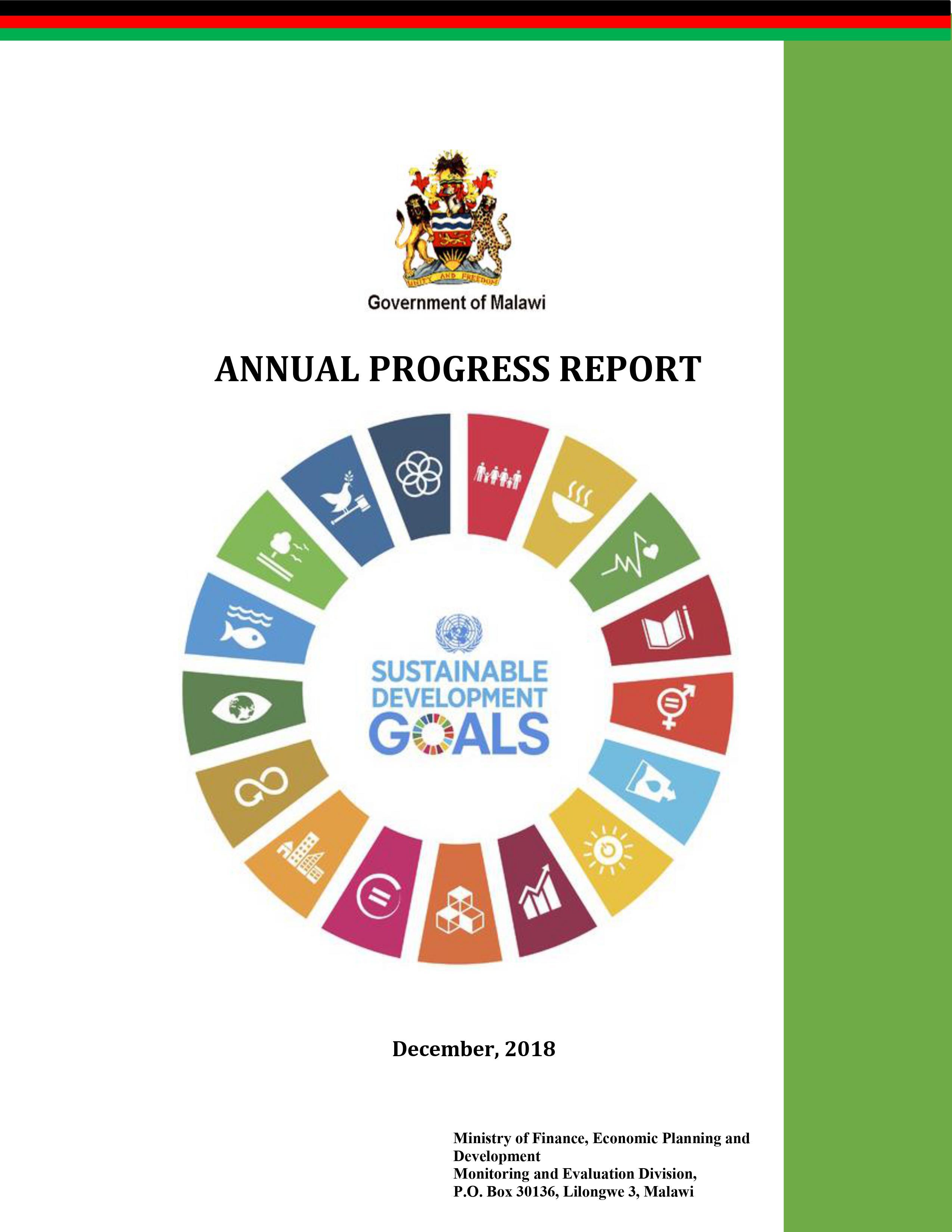 SDGs Annual Report