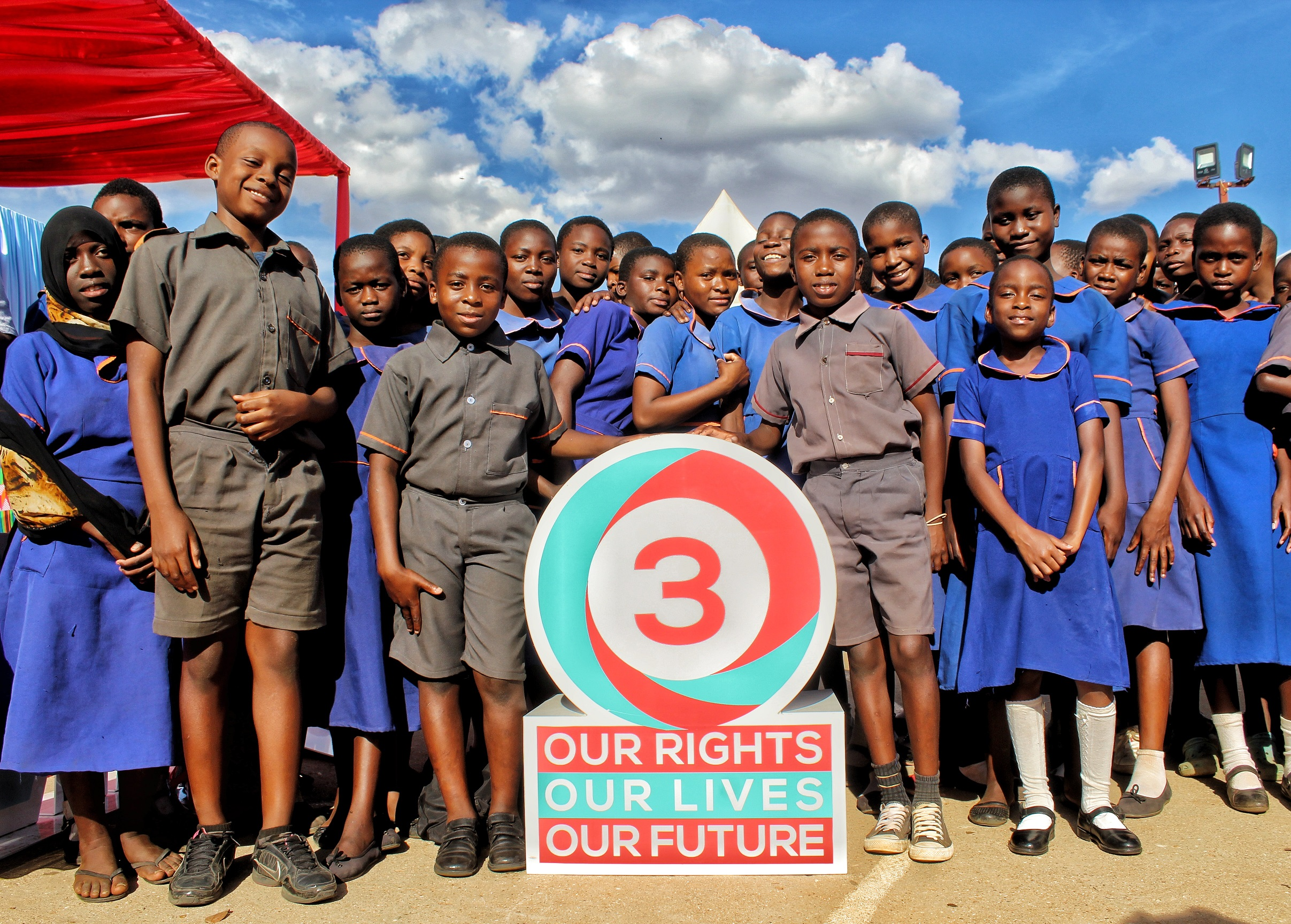 Our Rights, Our Lives, Our Future (O3) programme aims to support students like these in Malawi