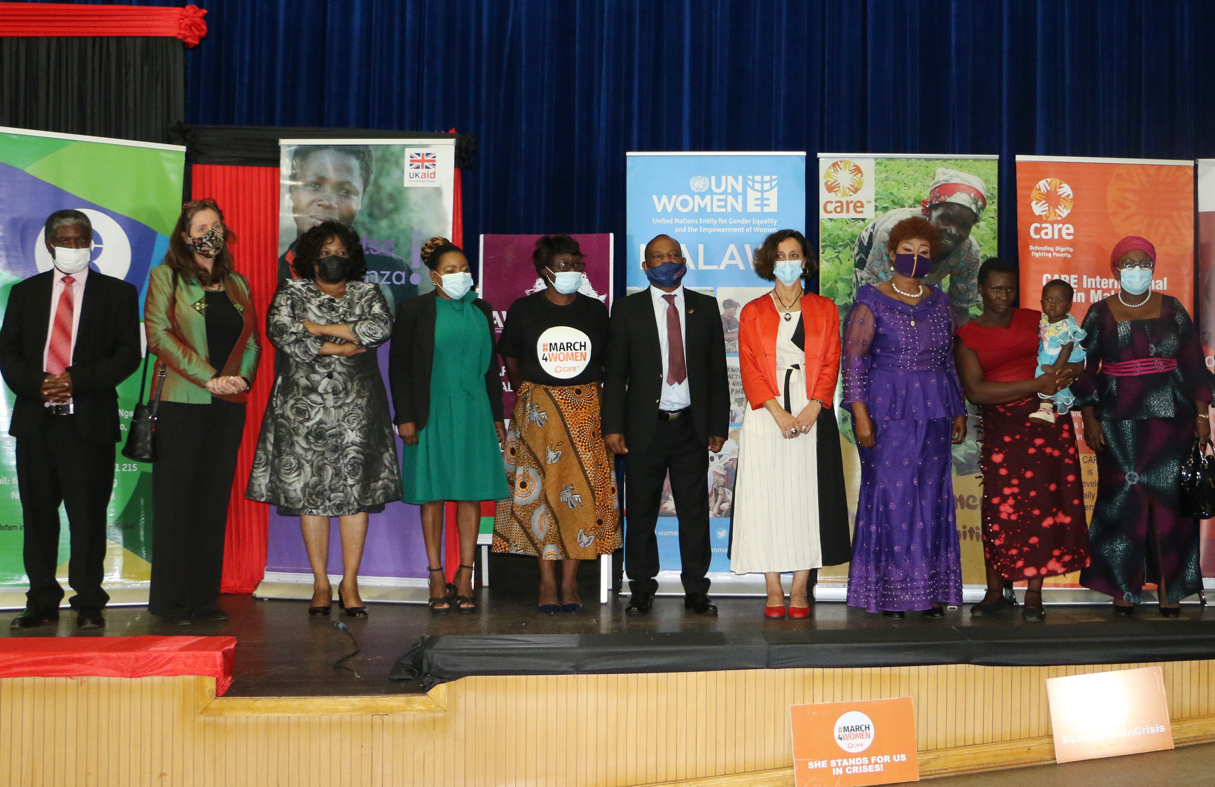 National launch of commemoration of International Women's Day in Malawi