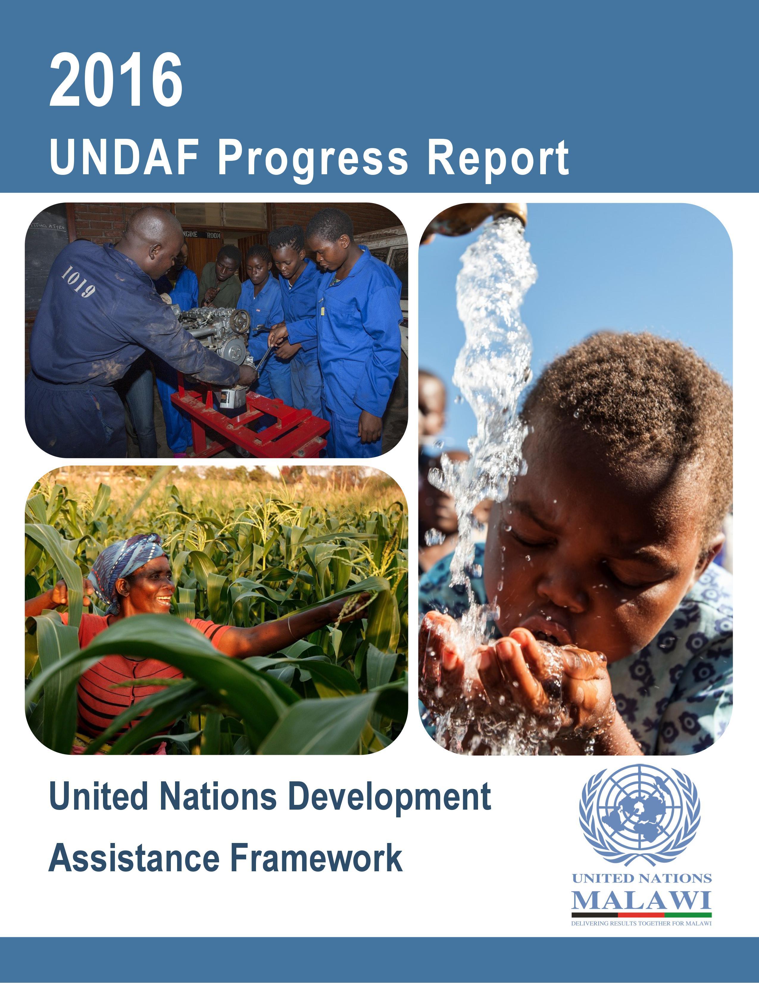 2016 Annual Report for UN Malawi