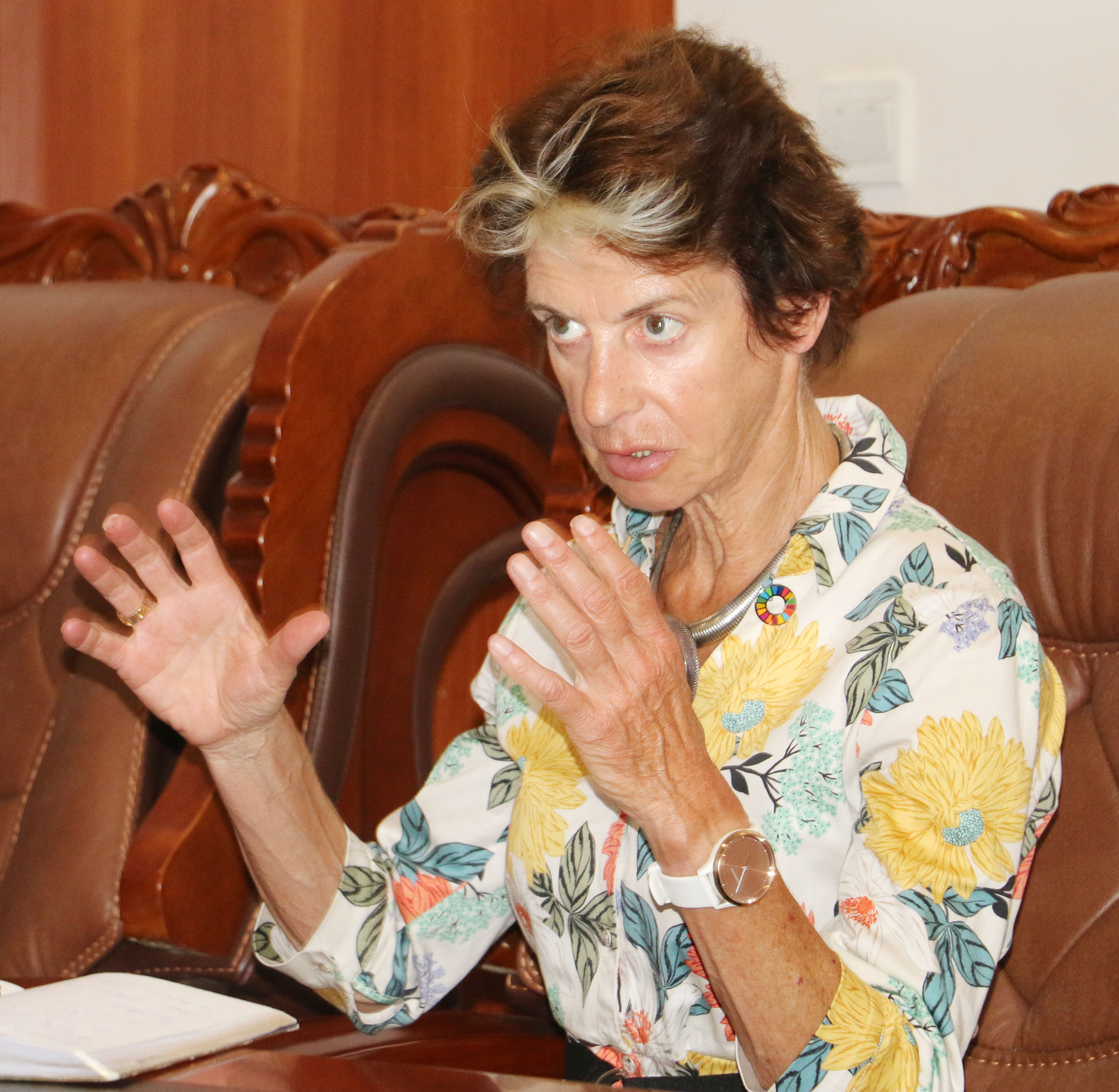 Scaling Up Nutrition (SUN) Coordinator and United Nations Assistant Secretary-General Gerda Verburg