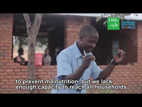 Health workers boost efforts to achieve good health and well-being in rural Malawi