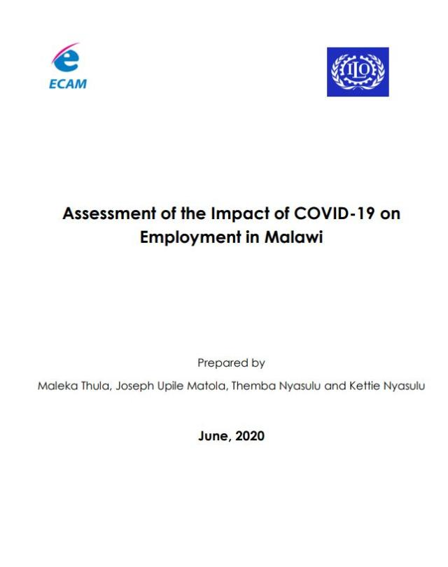 Assessment of the Impat of Covid-19 on the Labour Market in Malawi_ECAM Final Report